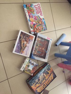 Games and puzzle Lot for Sale in Houston, TX