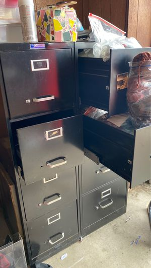 (2) four drawer file cabinets for Sale in San Diego, CA
