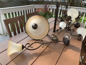Lot of kitchen and dining room light fixtures! for Sale in Naperville, IL