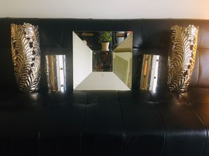 Z Gallerie Accessories for sale: Mirror, wall sconces and vases. for Sale in Sanford, FL