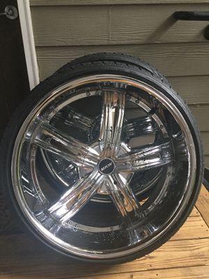 24inch Rims 5lug universal for Sale in Marietta, GA