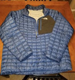 North face 1/4 zip Pullover XL men's for Sale in Galloway, OH