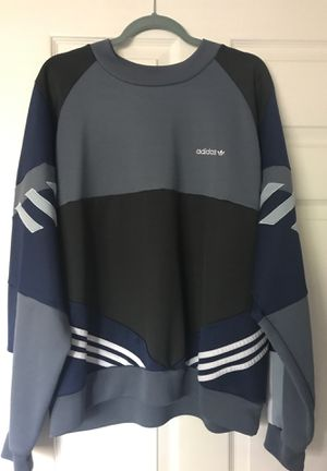ADIDAS BLUE,GRAY AND WHITE URBAN SWEATER for Sale in Dunwoody, GA
