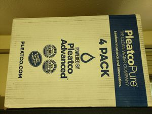 Pleatco pool or spa cartridge filter four pack for Sale in Seattle, WA