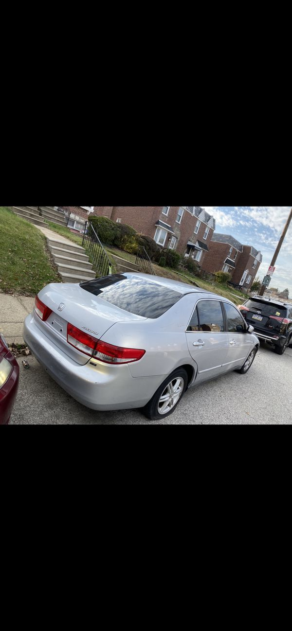 Honda Accord v6 2004 136 k miles. Clean title asking for 2500.