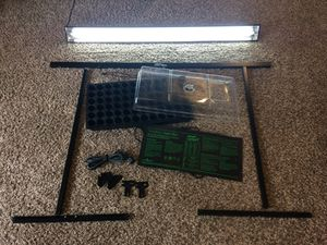 Indoor plant germination kit & growing light for Sale in Kent, WA