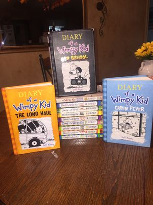 Books Diary of a wimpy kid series for Sale in Hurst, TX