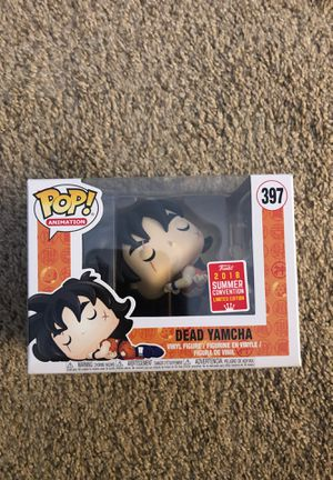 Funko Pop! Animation Dragon Ball Z #397 Dead Yamcha  SDCC 2018 Exclusive for Sale in Alexandria, VA