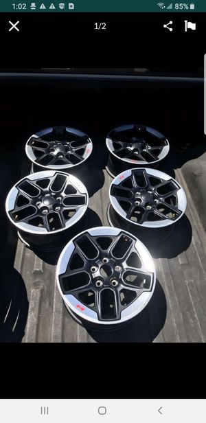 2019 jeep wheels only 4 left for Sale in Fontana, CA