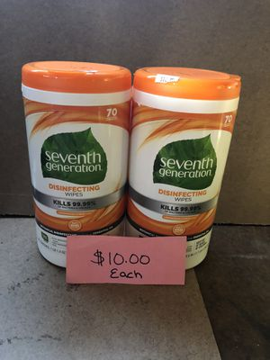 Seventh generation wipes for Sale in Elsmere, DE