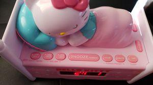 Hello Kitty Dual Alarm Clock Radio Nightlight for Sale in Baltimore, MD