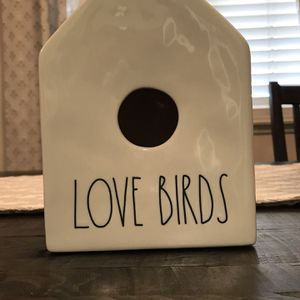 Rae Dunn Love Birds Bird House for Sale in Rancho Cucamonga, CA
