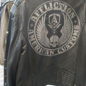 Mens xl leather jacket for Sale in Washington, DC