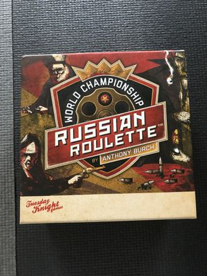 Russian Roulette board game for Sale in Eagan, MN