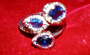 Sterling silver Sapphire Ring for Sale in Canton, TX