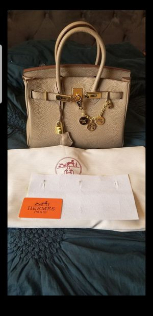 Hermes Birkin 30cm with bag charm for Sale in San Diego, CA