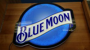 Blue moon LED sign for Sale in West Covina, CA