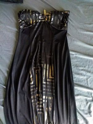Black and Gold Sleeveless Dress for Sale in Abilene, TX