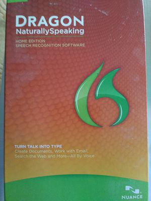 Nuance Dragon Naturally Speaking Version 12 for Sale in West Palm Beach, FL