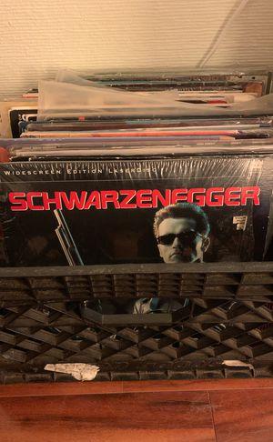 Box of laserdiscs for Sale in Poway, CA
