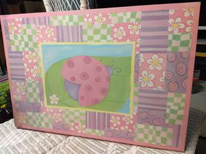 Canvas ladybug pictur for Sale in Eastvale, CA