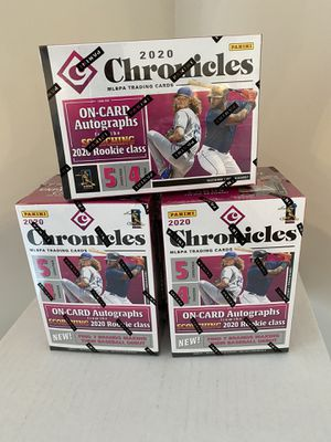 2020 Panini Chronicles Baseball Blaster Box for Sale in Edmonds, WA