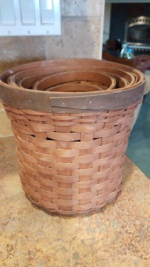 Longaberger Baskets for Sale in Hesperia, CA