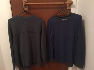Men's Clothing (Sweater, Collared Shirts, T-Shirts, Trunks, Lab Coat, Other) for Sale in Winter Haven, FL