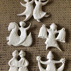 Haviland Limoges Porcelain Vintage Ornaments for Sale in Manassas, VA
