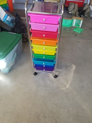 10 plastic drawers for Sale in Westminster, CO