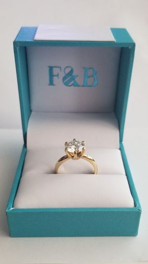 Moissanite engagement ring for Sale in Tomball, TX