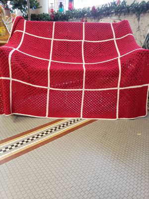 Santa Crocheted blanket for Sale in Riverbank, CA