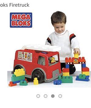 Mega blocks fire trucks for Sale in Alexandria, VA