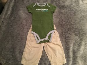 Boys Bodysuit & Corduroy Pants. for Sale in Los Angeles, CA