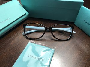 Tiffany women eyeglass new authentic in Box for Sale in Richardson, TX