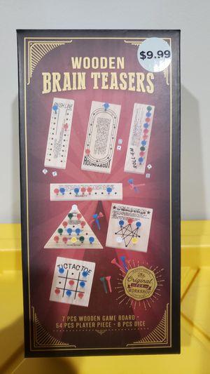 Wooden Brain Teaser set for Sale in Norwalk, CA