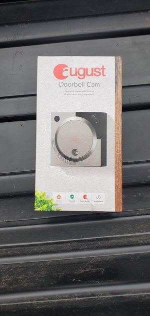 August doorbell cam, unopened for Sale in Marvin, NC