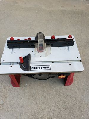 craftsman router tool for Sale in La Puente, CA