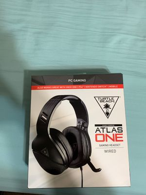 Turtle Beach Atlas One Headset For PC for Sale in Houston, TX