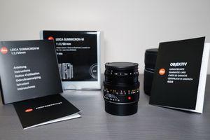 Brand New Leica Summicron-M 50mm f/2 Lens 6-Bit for Sale in Arlington, VA