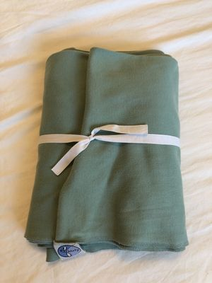 Moby Wrap Baby Carrier, sage green for Sale in Santa Clara, CA