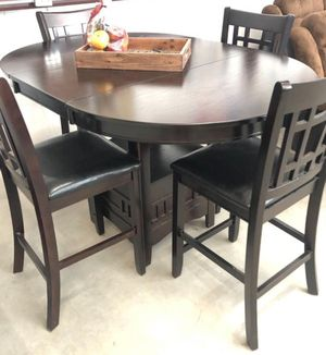 New 5-PC Counter Height Breakfast Kitchen Table Set for Sale in Stafford, TX