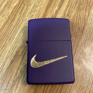 Zippo Nike Logo(purple) for Sale in Cut Off, LA
