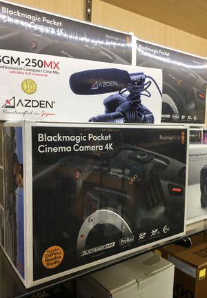 BlackMagic Pocket 4K Camera for Sale in Costa Mesa, CA