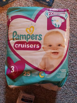 Pampers Cruisers size 3 for Sale in Huntington, NY
