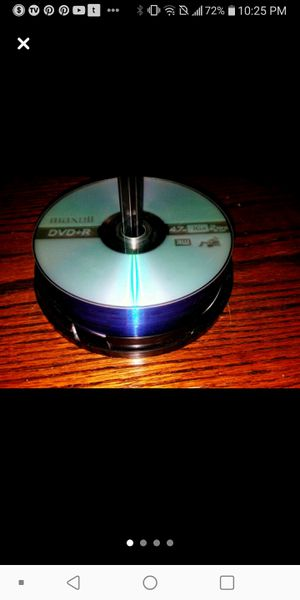 25-Maxell Blank DVD/CD's for Sale in St. Louis, MO