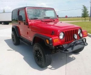 2001 Jeep Wrangler SE price $1000 for Sale in Bowling Green, FL