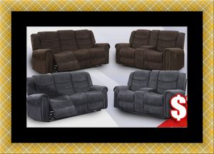 Grey or chocolate recliner set for Sale in Crofton, MD