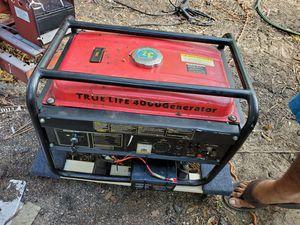 4000 watts key start generator for Sale in Brandon, FL