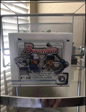2020 Bowman Baseball Retail Box for Sale in West Linn, OR